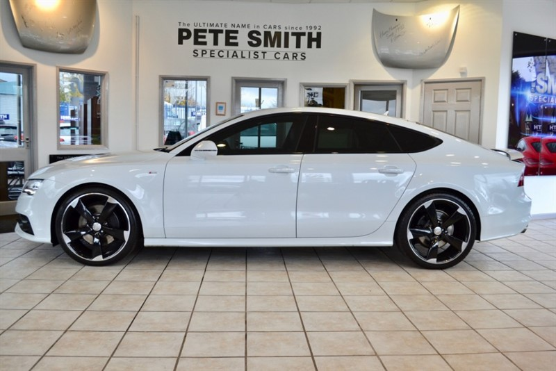 used Audi A7 3.0 BiTDI QUATTRO S LINE BLACK EDITION TOP SPEC 2014/64 in forest-of-dean-gloucestershire