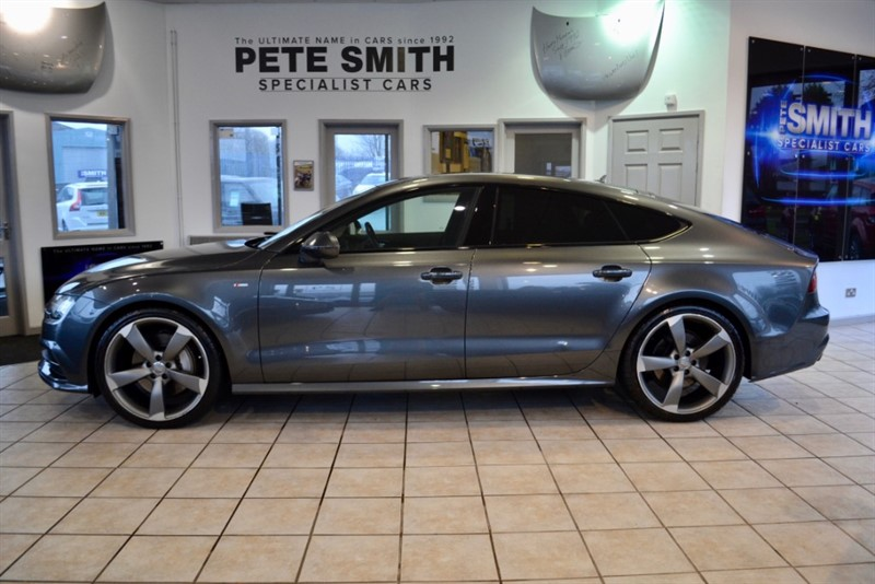 used Audi A7 3.0 SPORTBACK TDI QUATTRO AUTO S LINE BLACK EDITION 320 BHP ONE OWNER BIG SPECIFICATION 2016/65 in forest-of-dean-gloucestershire