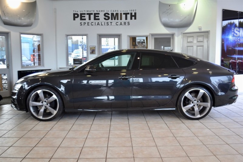 used Audi A7 3.0 BI TDI QUATTRO S LINE BLACK EDITION 313 BHP AUTO 29000 MILES FULL AUDI SERVICE HISTORY  2013/63 in forest-of-dean-gloucestershire