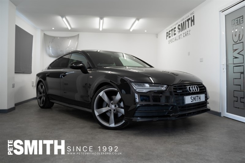 used Audi A7 3.0 SPORTBACK TDI QUATTRO S LINE BLACK EDITION JUST ARRIVED 2015/65 in forest-of-dean-gloucestershire