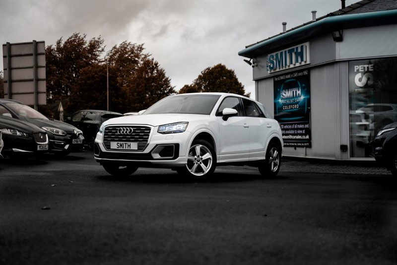 used Audi Q2 1.4 TFSI SPORT S-TRONIC AUTO SAT NAV 5 DOOR ONE OWNER AUDI SERVICE HISTORY  2017/67 in forest-of-dean-gloucestershire
