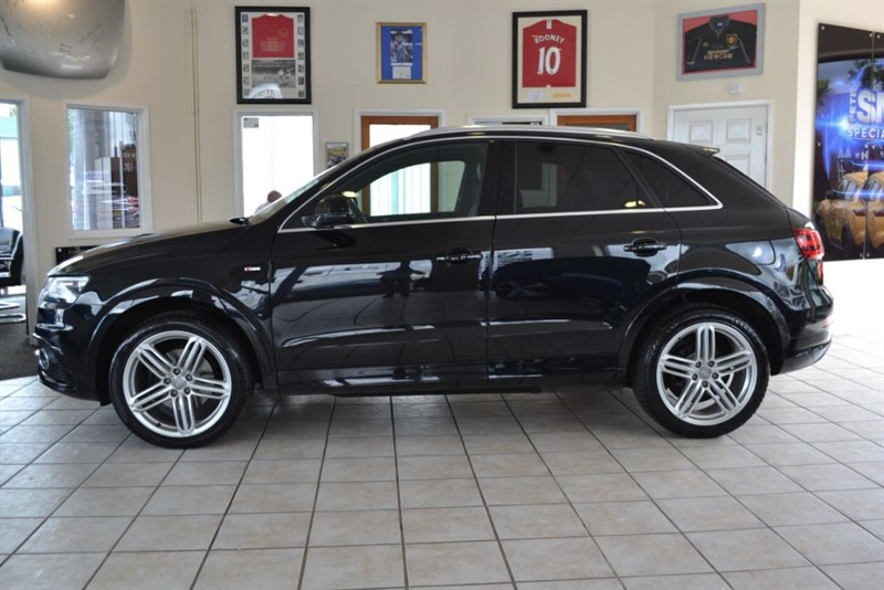 used Audi Q3 2.0 TDI QUATTRO S LINE ONE OWNER WITH NAVIGATION in forest-of-dean-gloucestershire