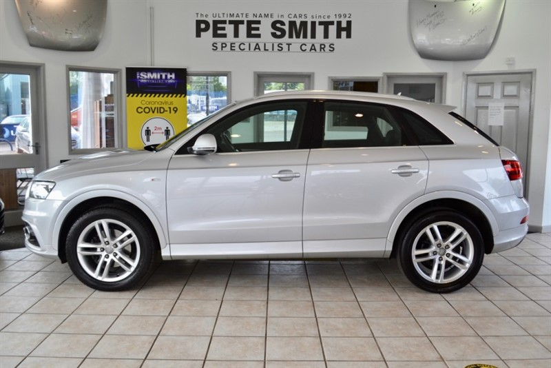 used Audi Q3 2.0 TDI QUATTRO S LINE 177PS S-TRONIC 42000 MILES WITH A FULL AUDI SERVICE HISTORY 2013/13 in forest-of-dean-gloucestershire