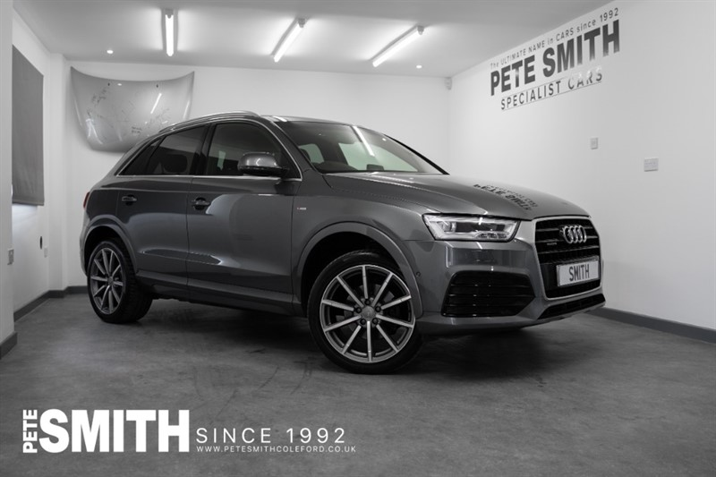 used Audi Q3 2.0 TDI QUATTRO S LINE PLUS S-TRONIC AUTO JUST ARRIVED 2016/66 in forest-of-dean-gloucestershire