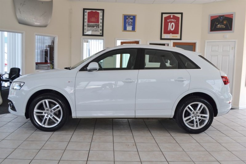 used Audi Q3 2.0 TDI QUATTRO S LINE WITH JUST THE ONE OWNER FROM NEW in forest-of-dean-gloucestershire