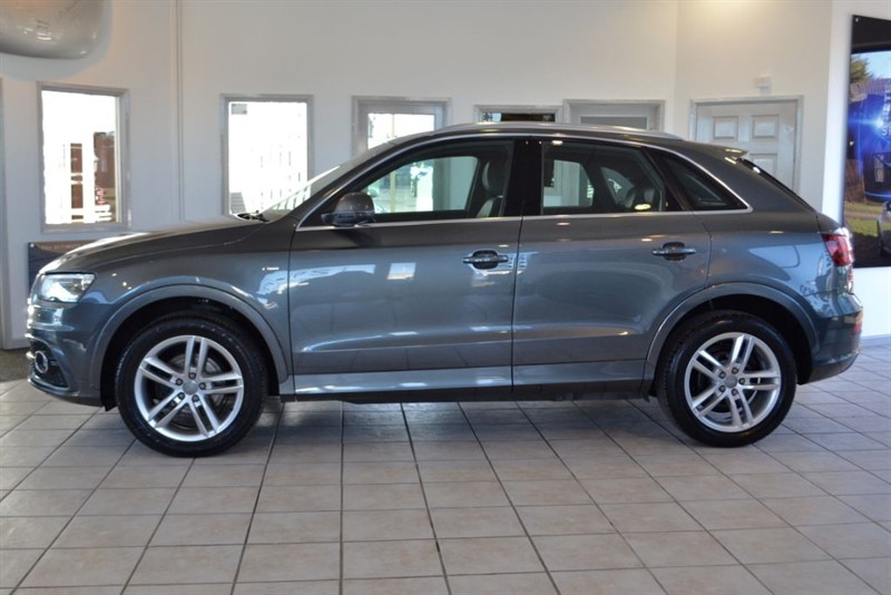 used Audi Q3 2.0 TDI QUATTRO S LINE WITH NAVIGATION in forest-of-dean-gloucestershire