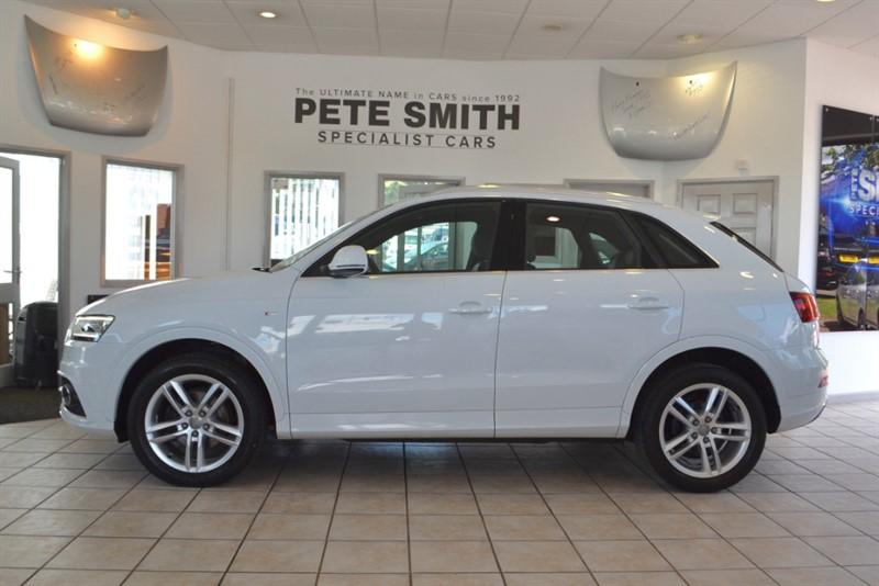 used Audi Q3 2.0 TDI S LINE WITH JUST THE ONE OWNER FROM NEW 2014/64 in forest-of-dean-gloucestershire