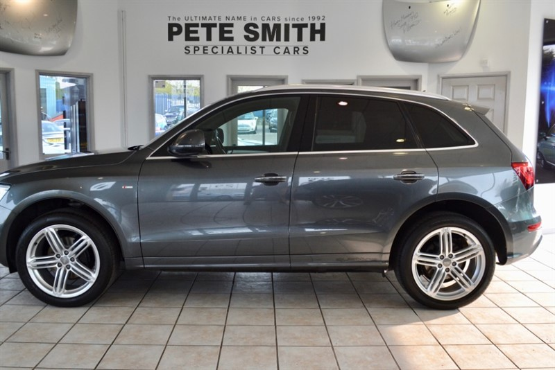 used Audi Q5 2.0 TDI QUATTRO S LINE PLUS WITH PANORAMIC GLASS SUNROOF AND NAVIGATION 2014/64 in forest-of-dean-gloucestershire