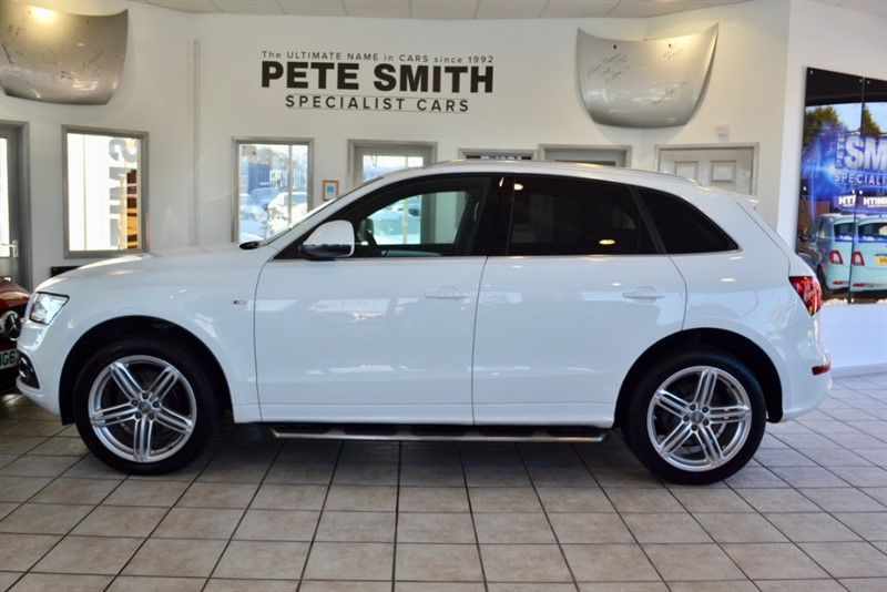 used Audi Q5 3.0 TDI QUATTRO S LINE PLUS PANORAMIC ROOF FULL AUDI SERVICE HISTORY in forest-of-dean-gloucestershire