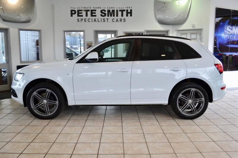 used Audi Q5 2.0 TDI QUATTRO S LINE PLUS BLACK STYLING PACK  ONE OWNER 47000 MILES AUDI SERVICE HISTORY 2013/13 in forest-of-dean-gloucestershire