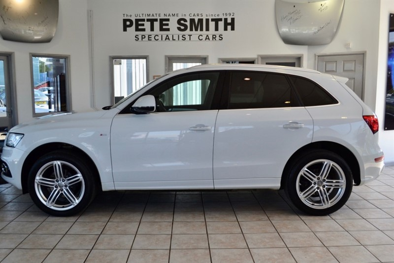 used Audi Q5 2.0 TDI QUATTRO S LINE PLUS AUTOMATIC PANORAMIC ROOF 2016/16 in forest-of-dean-gloucestershire