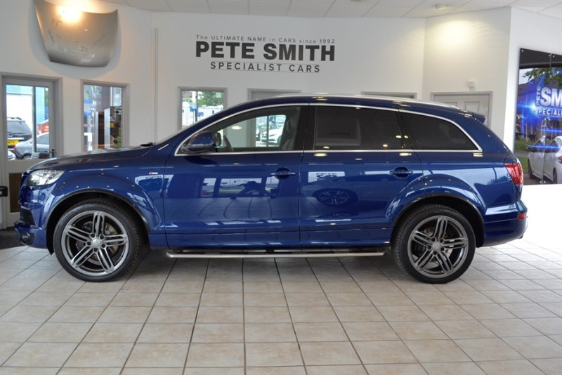 used Audi Q7 3.0 TDI QUATTRO S LINE PLUS 7 SEATER 2014/14 in forest-of-dean-gloucestershire