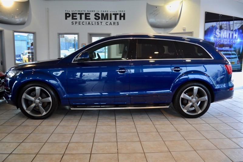 used Audi Q7 3.0 TDI QUATTRO S LINE STYLE EDITION 2014/64 7 SEATS in forest-of-dean-gloucestershire