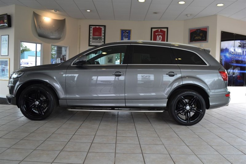 used Audi Q7 3.0 TDI QUATTRO S LINE PLUS WITH PANORAMIC SUNROOF in forest-of-dean-gloucestershire