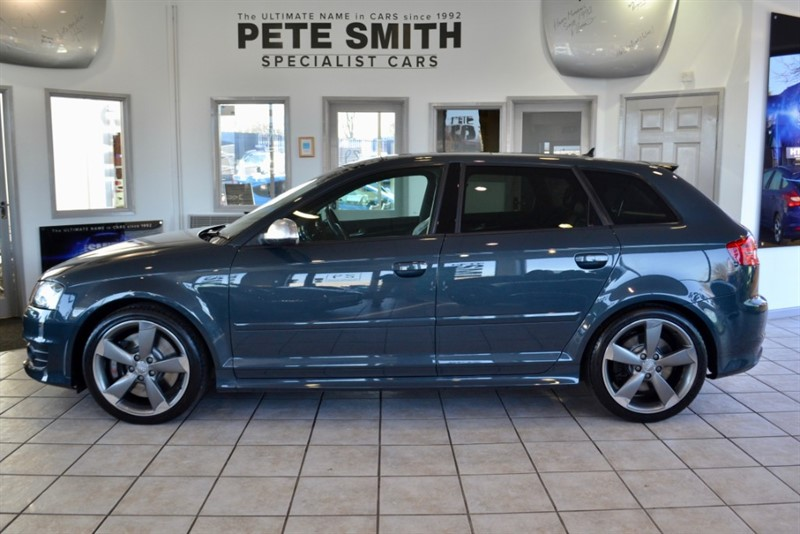 used Audi S3 2.0 SPORTBACK TFSI QUATTRO BLACK EDITION 5 DOOR 52000 MILES BIG SPECIFICATION 2012/12 in forest-of-dean-gloucestershire