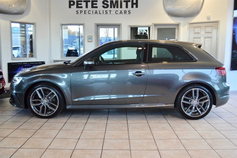 used Audi S3 2.0 TFSI QUATTRO S TRONIC 1 OWNER ONLY 18000 MILES LEATHER SPORTS SEATS NAVIGATION 2016/16 in forest-of-dean-gloucestershire