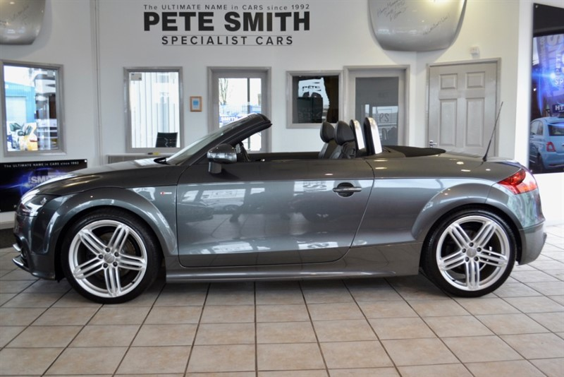 used Audi TT 2.0 TDI QUATTRO S LINE FULL AUDI SERVICE HISTORY 2010/60 in forest-of-dean-gloucestershire