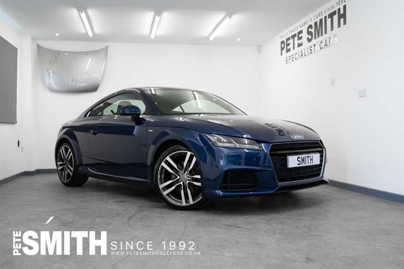 used Audi TT TFSI S LINE COUPE ONE OWNER VIRTUAL DASHBOARD JUST ARRIVED 2018/18 in forest-of-dean-gloucestershire