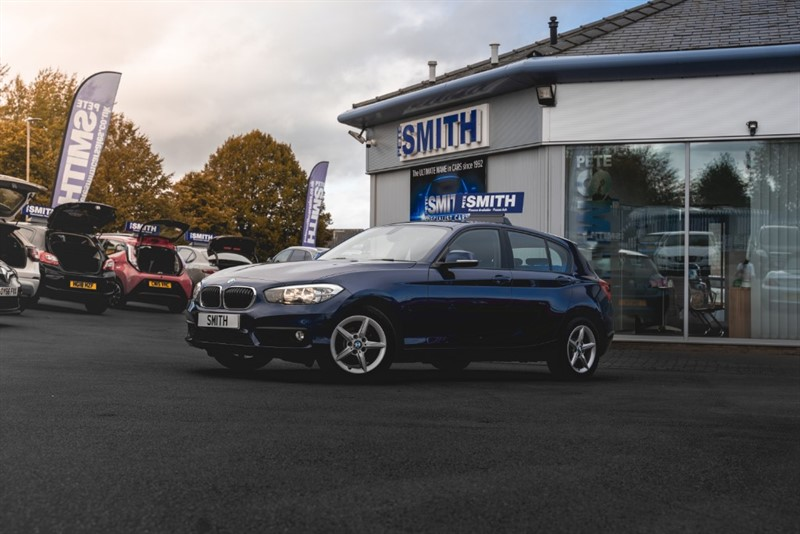 used BMW 116d SE 5 DOOR £ZERO ROAD TAX FULL SERVICE HISTORY 2015/15 in forest-of-dean-gloucestershire