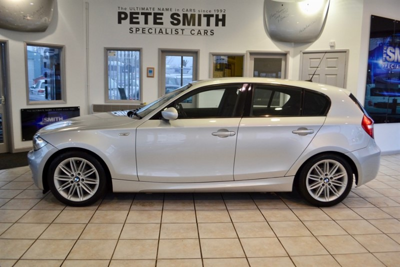 used BMW 118d 2.0 M SPORT 5 DOOR HATCHBACK WITH JUST £30 ROAD TAX 2008/58 in forest-of-dean-gloucestershire