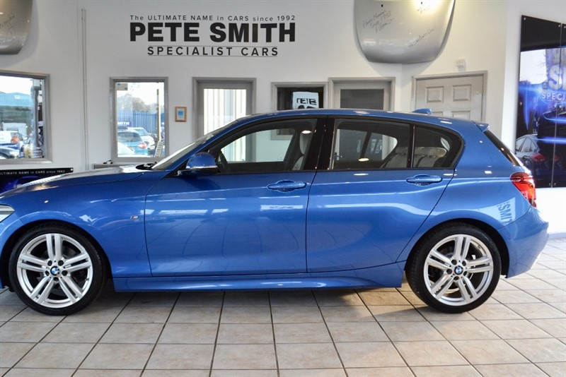 used BMW 118i M SPORT 167BHP 5 DOOR HATCH NAVIGATION BLUETOOTH WITH MUSIC STREAMING in forest-of-dean-gloucestershire
