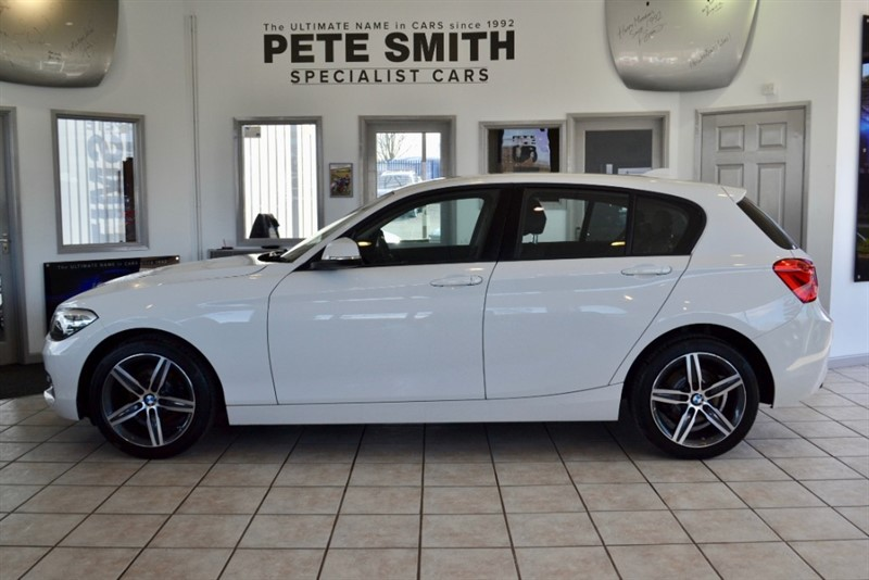 used BMW 118i 1.5 SPORT 5 DOOR ONE OWNER ONLY 17000 MILES WITH NAVIGATION AND SERVICE PACK 2016/66 in forest-of-dean-gloucestershire
