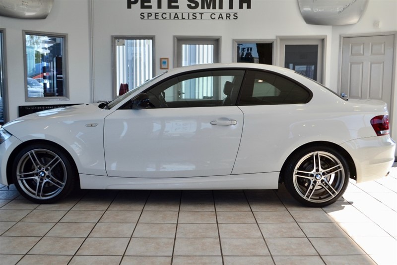 used BMW 120d 2.0 SPORT PLUS EDITION COUPE AUTOMATIC WITH BLACK LEATHER 2012/62 in forest-of-dean-gloucestershire