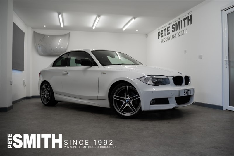 used BMW 120d SPORT PLUS EDITION COUPE WITH JUST 58000 MILES AND FULL LEATHER TRIM JUST ARRIVED 2012/12 in forest-of-dean-gloucestershire
