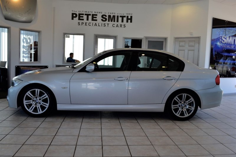 used BMW 318d 2.0 D M SPORT SALOON 2009/09 COMPLETE WITH FULL SERVICE HISTORY in forest-of-dean-gloucestershire