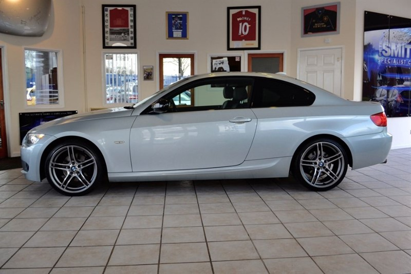 used BMW 320d 2.0 SPORT PLUS EDITION COUPE WITH PROFESSIONAL NAVIGATION in forest-of-dean-gloucestershire
