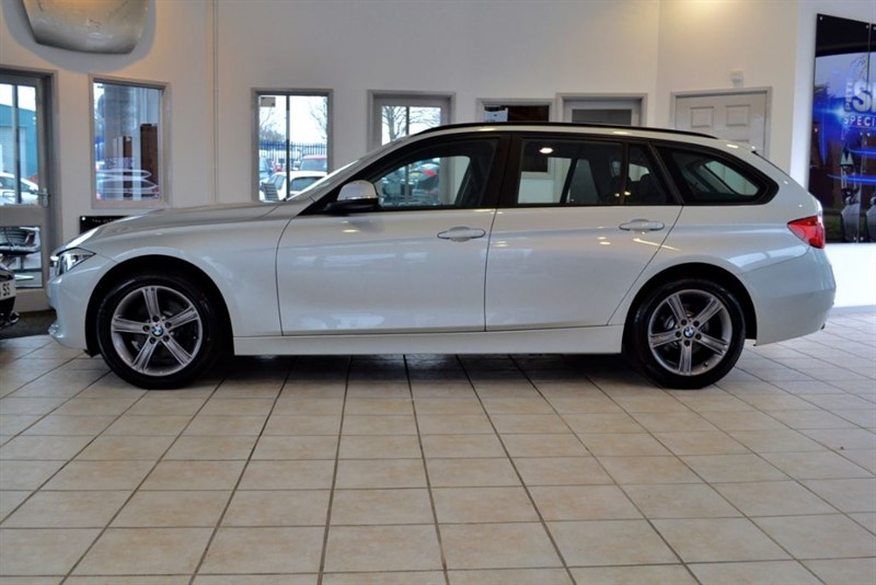 used BMW 320d 2.0 XDRIVE SE TOURING COMPLETE WITH FULL BMW SERVICE HISTORY in forest-of-dean-gloucestershire