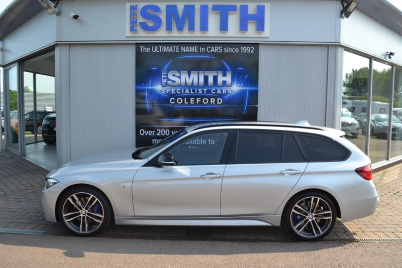 used BMW 318d 2.0 M SPORT SHADOW EDITION TOURING FULL LEATHER NAVIGATION LED LIGHTS 2018/18 in forest-of-dean-gloucestershire