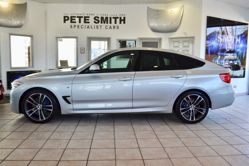 used BMW 318d 318d 2.0 M SPORT GRAN TURISMO GT 2014/64 WITH THE M SPORT PLUS PACKAGE AND PANORAMIC GLASS ROOF in forest-of-dean-gloucestershire