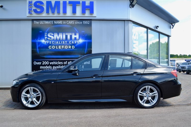 used BMW 320d 2.O M SPORT AUTOMATIC 4 DOOR ONE OWNER NAVIGATION AND FULL LEATHER 2016/66 in forest-of-dean-gloucestershire