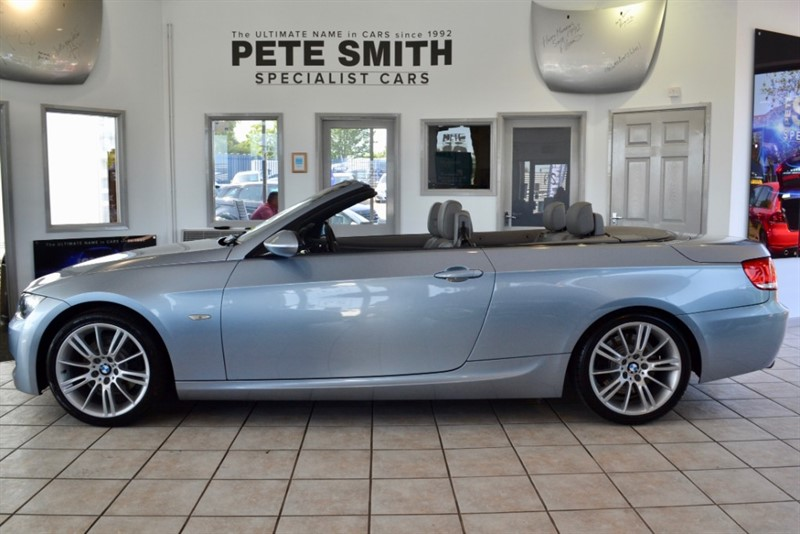 used BMW 325d M SPORT CONVERTIBLE WITH NAVIGATION AND HEATED LEATHER SEATS 2009/09 in forest-of-dean-gloucestershire