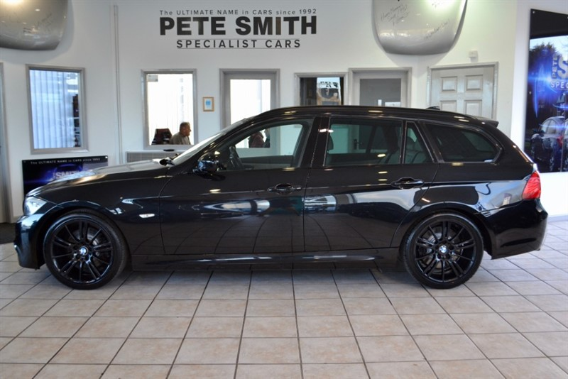 used BMW 330d M SPORT TOURING AUTO WITH FULL SERVICE HISTORY LEATHER AND NAVIGATION 2011/61 in forest-of-dean-gloucestershire