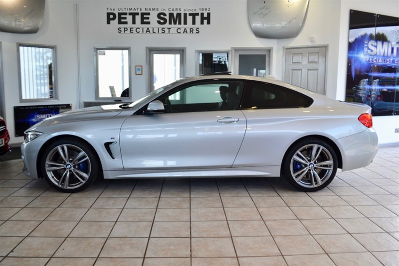 used BMW 420d 2.0 D M SPORT AUTO FULL SERVICE HISTORY NAVIGATION AND SUNROOF in forest-of-dean-gloucestershire