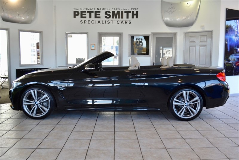 used BMW 435i 3.0 M SPORT AUTO CONVERTIBLE WITH COMFORT PACK ONLY 49000 MILES AND A FULL BMW SERVICE HISTORY in forest-of-dean-gloucestershire