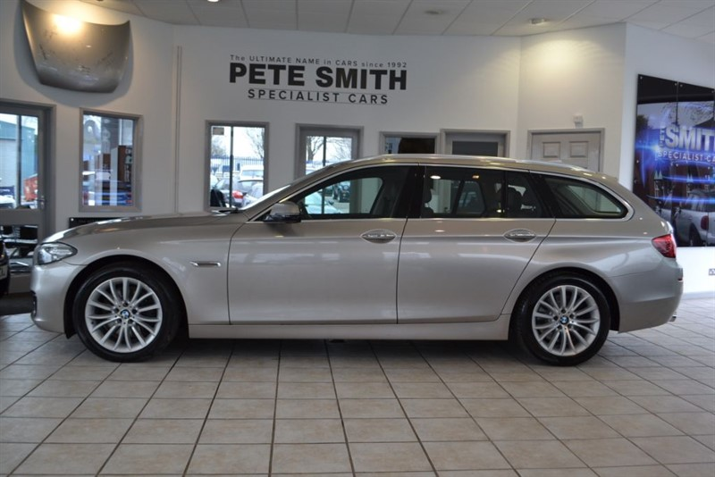 used BMW 535d 3.O LUXURY TOURING 2014/14 MASSIVE SPEC INC PANORAMIC ROOF in forest-of-dean-gloucestershire