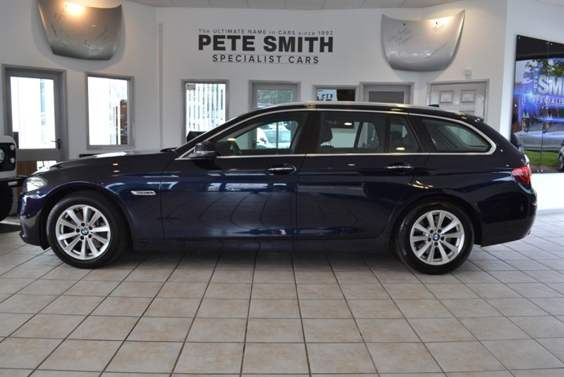 used BMW 530d 3.0 SE TOURING AUTOMATIC 8 SPEED WITH FULL LEATHER TRIM POWER TAILGATE AND NAVIGATION 2015/15 in forest-of-dean-gloucestershire