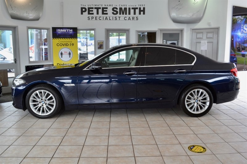 used BMW 530d 3.0 D LUXURY AUTOMATIC 4 DOOR ONLY 56000 MILES FULL BMW SERVICE HISTORY BIG SPECIFICATION 2014/64 in forest-of-dean-gloucestershire