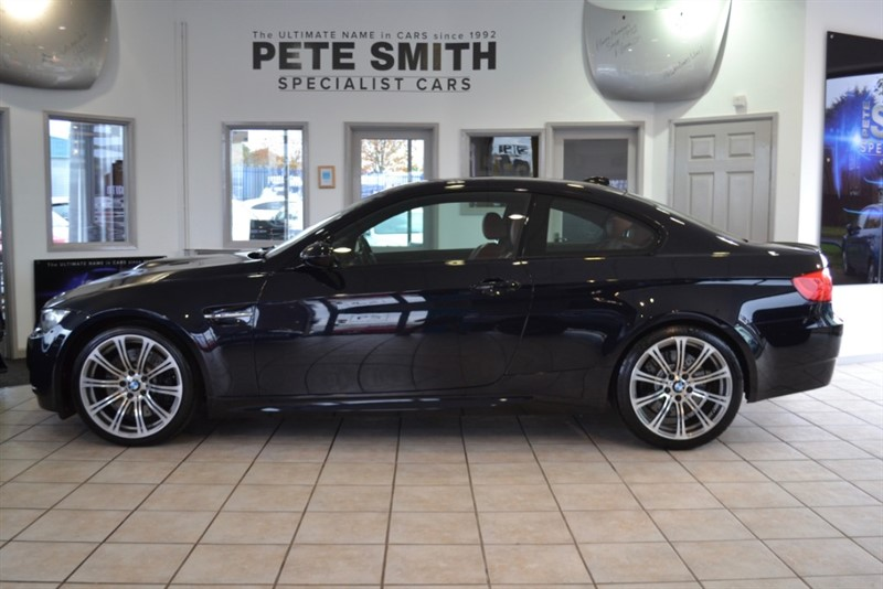 used BMW M3 4.0 DCT AUTO COUPE FINISHED IN JEREZ BLACK WITH NOVILLO FOX RED LEATHER BIG SPECIFICATION 2011/11 in forest-of-dean-gloucestershire