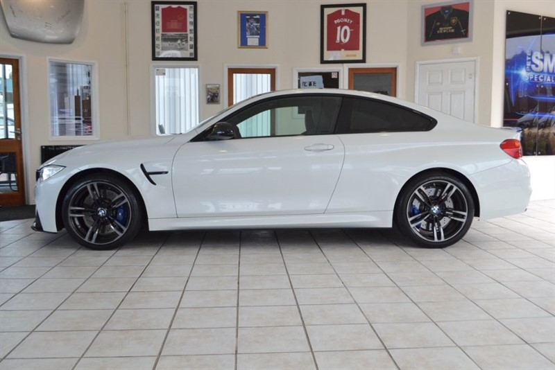 used BMW M4 3.0 DCT COUPE WITH ONLY 8000 MILES AND A FANTASTIC SPECIFICATION in forest-of-dean-gloucestershire