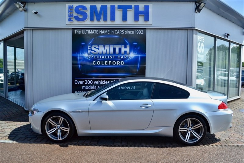 used BMW M6 COUPE 5.0 V10 SMG AUTO CARBON ROOF WITH FULL SERVICE HISTORY 2006/56 in forest-of-dean-gloucestershire