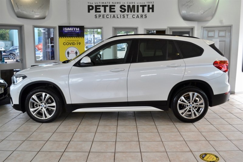 used BMW X1 1.5 SDRIVE 18i SPORT DCT AUTOMATIC 5 DOOR ONE OWNER AND JUST 2500 MILES 2018/18 in forest-of-dean-gloucestershire