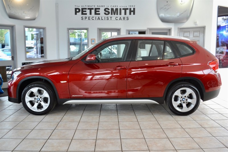 used BMW X1 2.0 D SE XDRIVE WITH PANORAMIC ROOF AND LEATHER 2011/11 in forest-of-dean-gloucestershire
