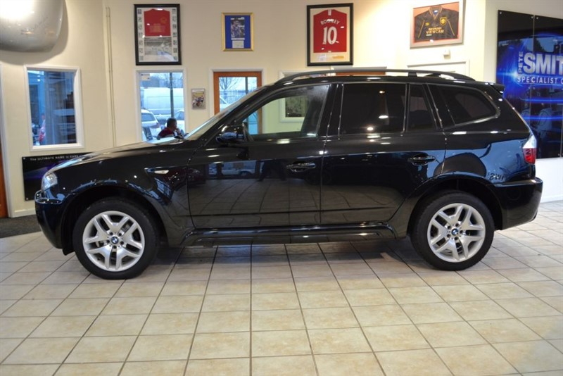 "used BMW X3 2.0 D M SPORT WITH FULL BLACK LEATHER AND 18"" ALLOYS in forest-of-dean-gloucestershire"