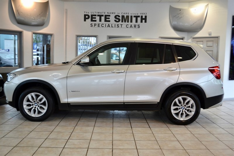 used BMW X3 XDRIVE 20D SE 4X4 AUTOMATIC 2012/12 in forest-of-dean-gloucestershire