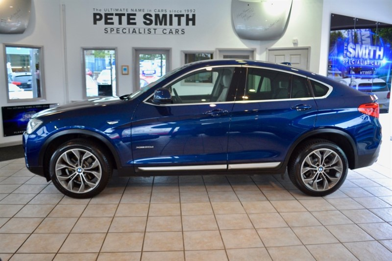 used BMW X4  2.0D XDRIVE  X LINE FULL BMW SERVICE HISTORY 2015/15 in forest-of-dean-gloucestershire