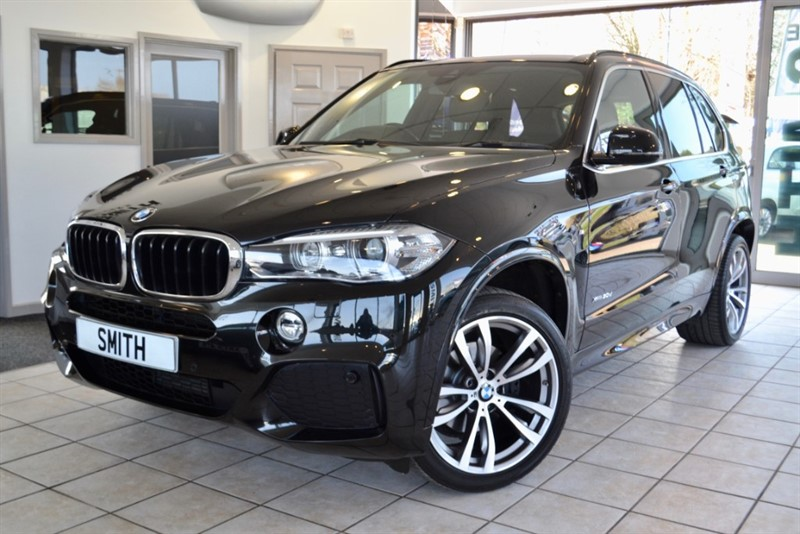 used BMW X5 3.0 XDRIVE 30D M SPORT 2016/65 BI XENON ADAPTIVE HEADLIGHTS  AND MOCHA DAKOTA LEATHER in forest-of-dean-gloucestershire